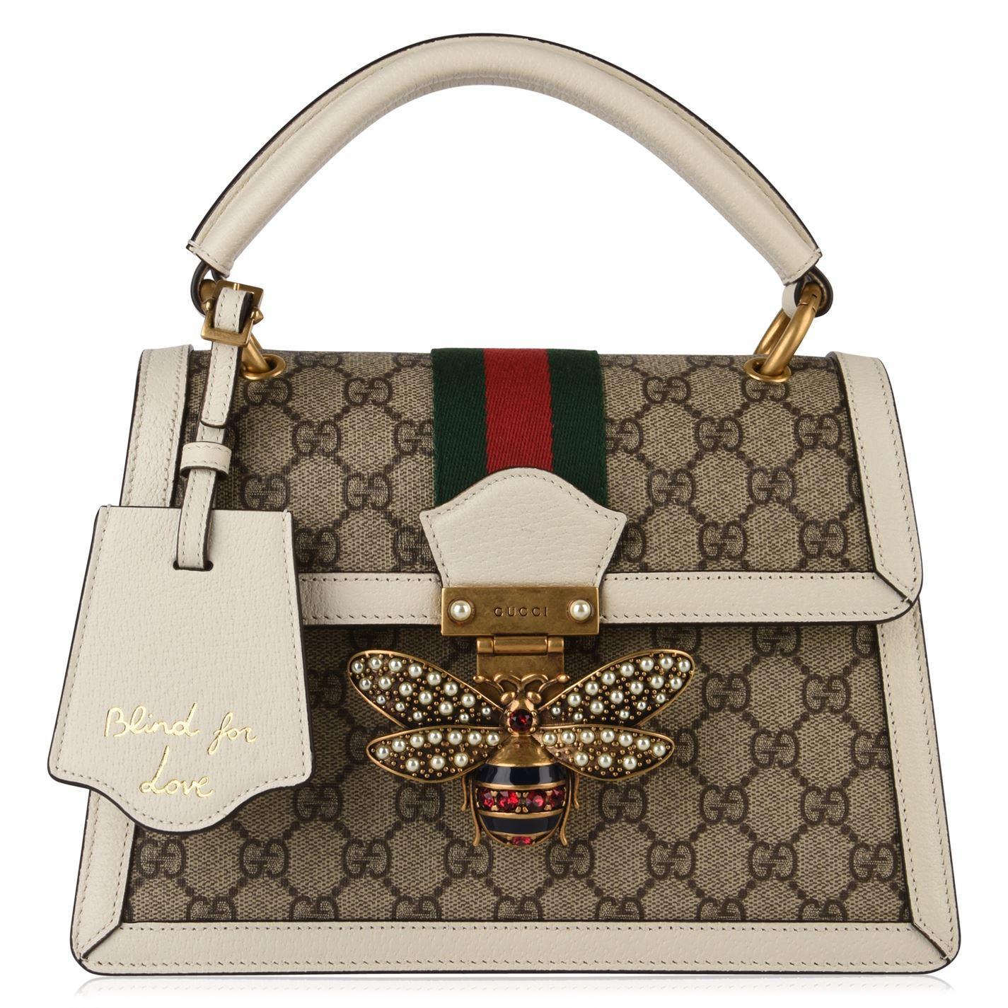 daf8ec396d2 Gucci - Multicolor Queen Margaret Small Gg Bag - Lyst. View fullscreen