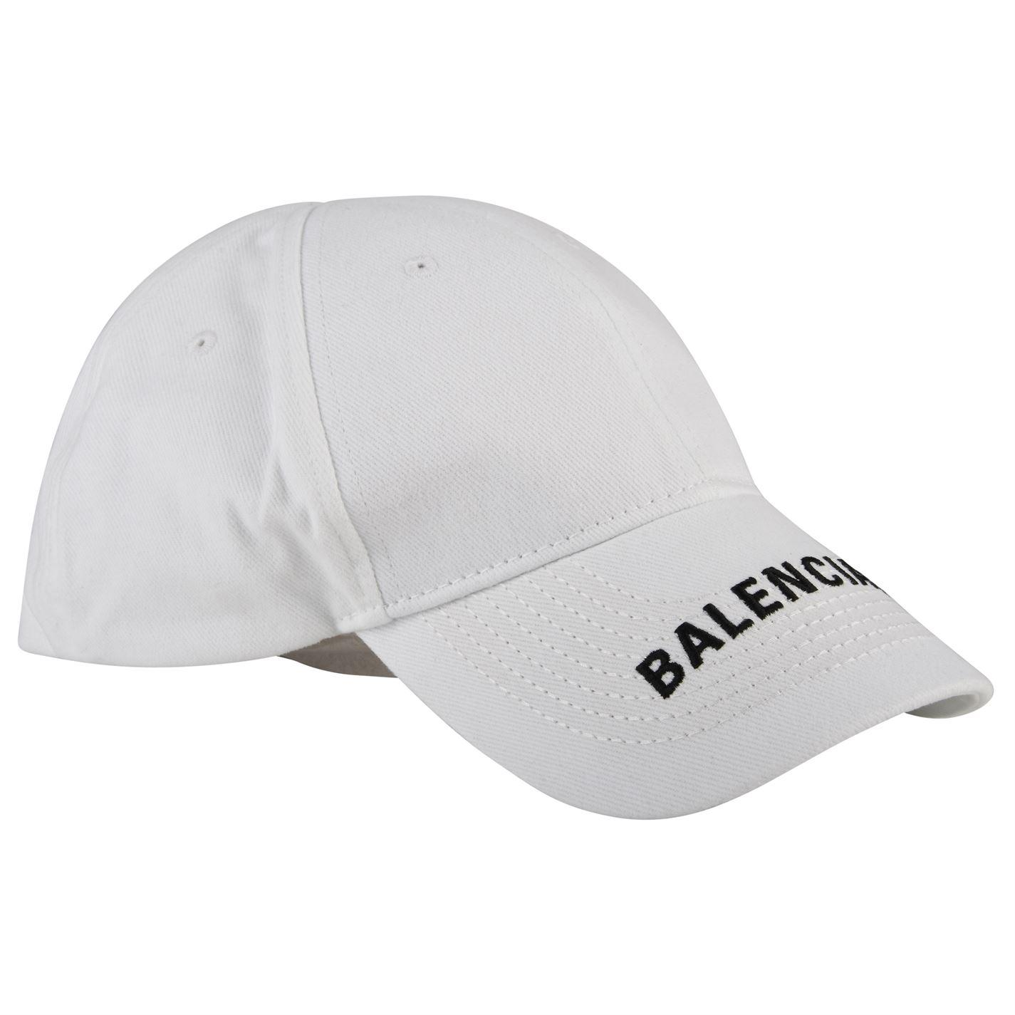 c1c30cf1 Lyst - Balenciaga Logo Cap in White