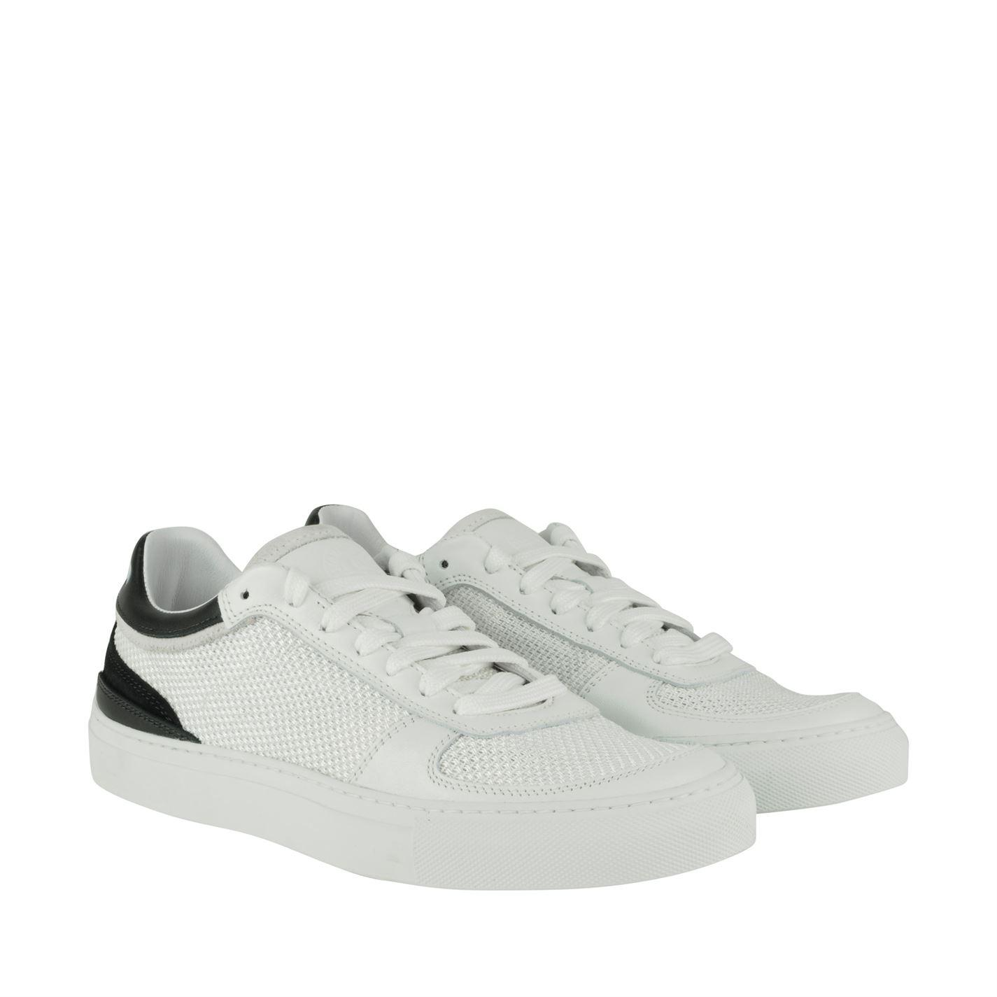 ... Stone Island Logo Mesh Trainers in White for Men - Lyst thoughts on  b37ad 84dcb ... 8726cf314