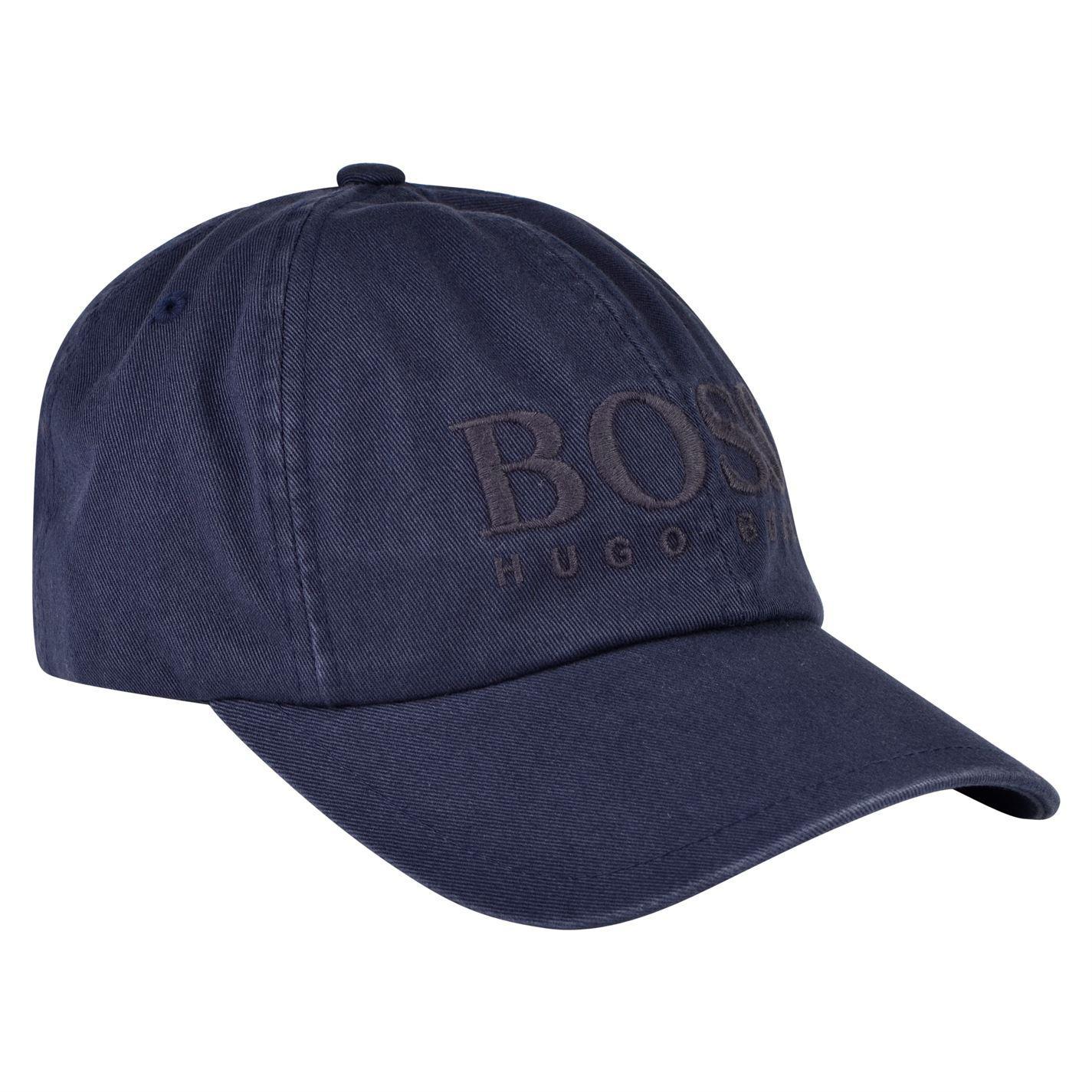 8b4c331df28 BOSS by Hugo Boss Fritz Logo Cap in Blue for Men - Lyst