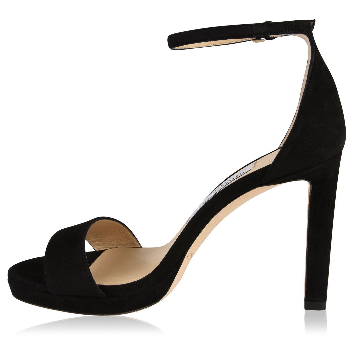 c1e471b2563e Jimmy Choo - Black Misty 100 Platform Sandals - Lyst. View fullscreen