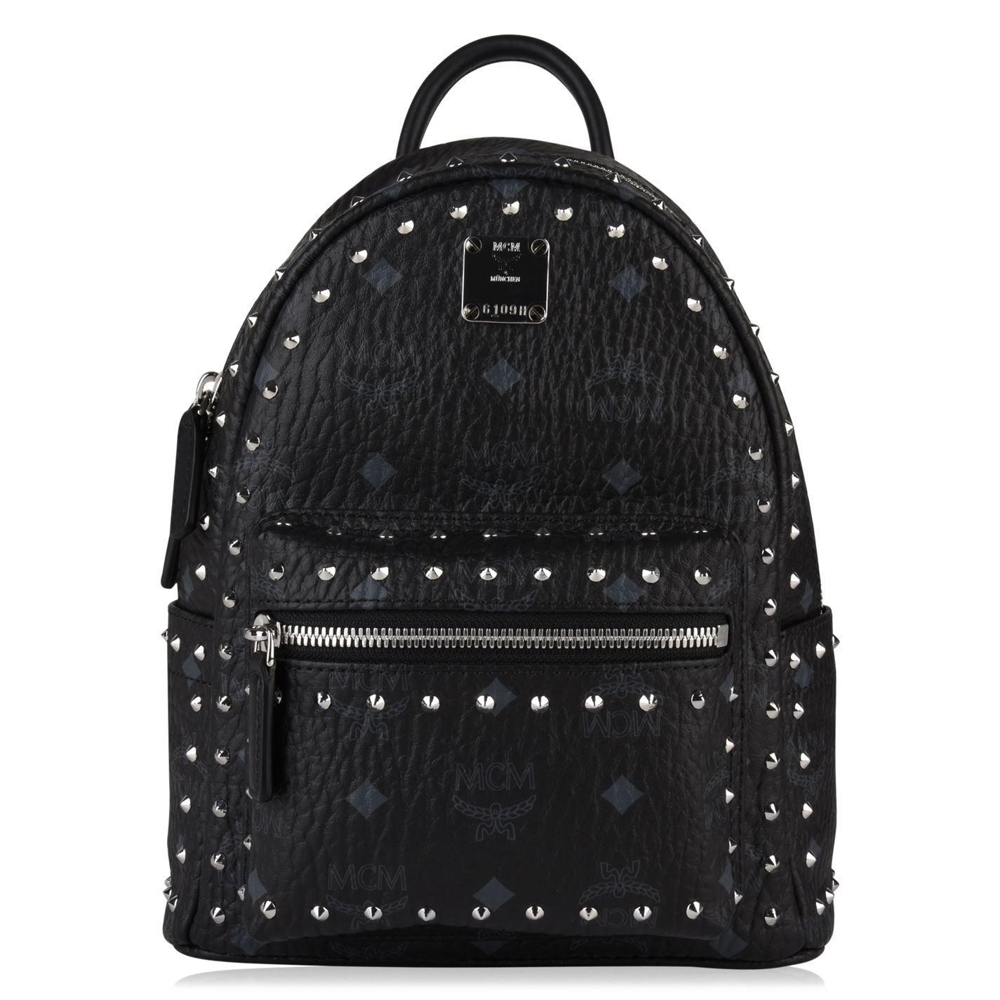 a3c2f676d40 MCM Stark Mini Backpack in Black - Save 19% - Lyst