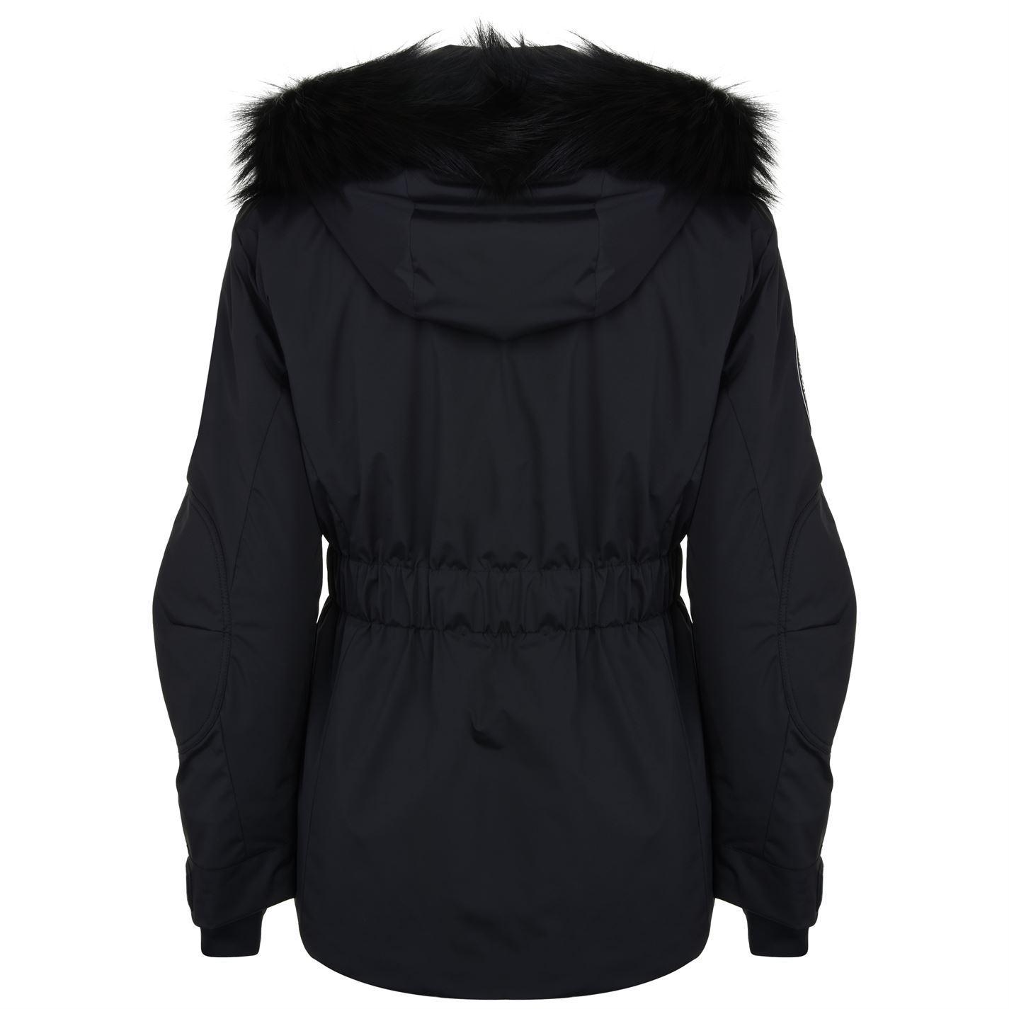 02dce00d777 Fendi Nylon Fox Hooded Jacket in Black - Lyst