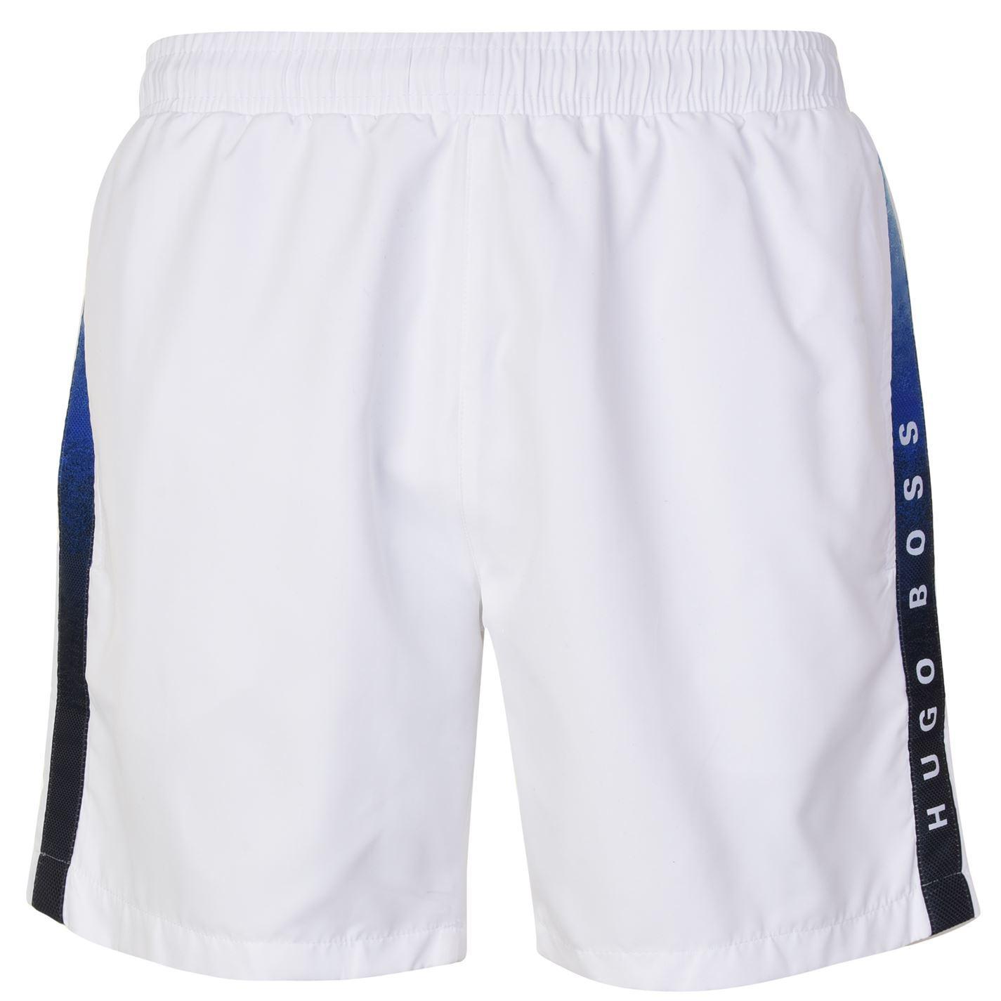 3f2810476 Lyst - BOSS by Hugo Boss Seabream Swim Shorts in White for Men