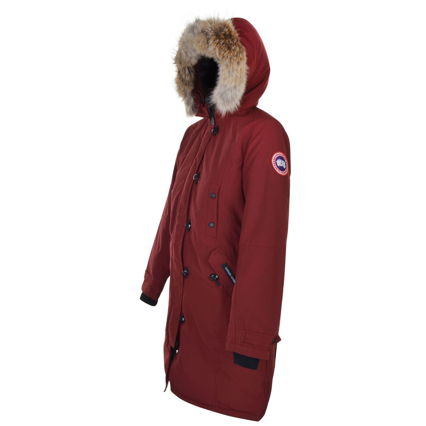 981420df9adf2 ... discount code for canada goose purple kensington parka lyst. view  fullscreen cdbdd ac8fe