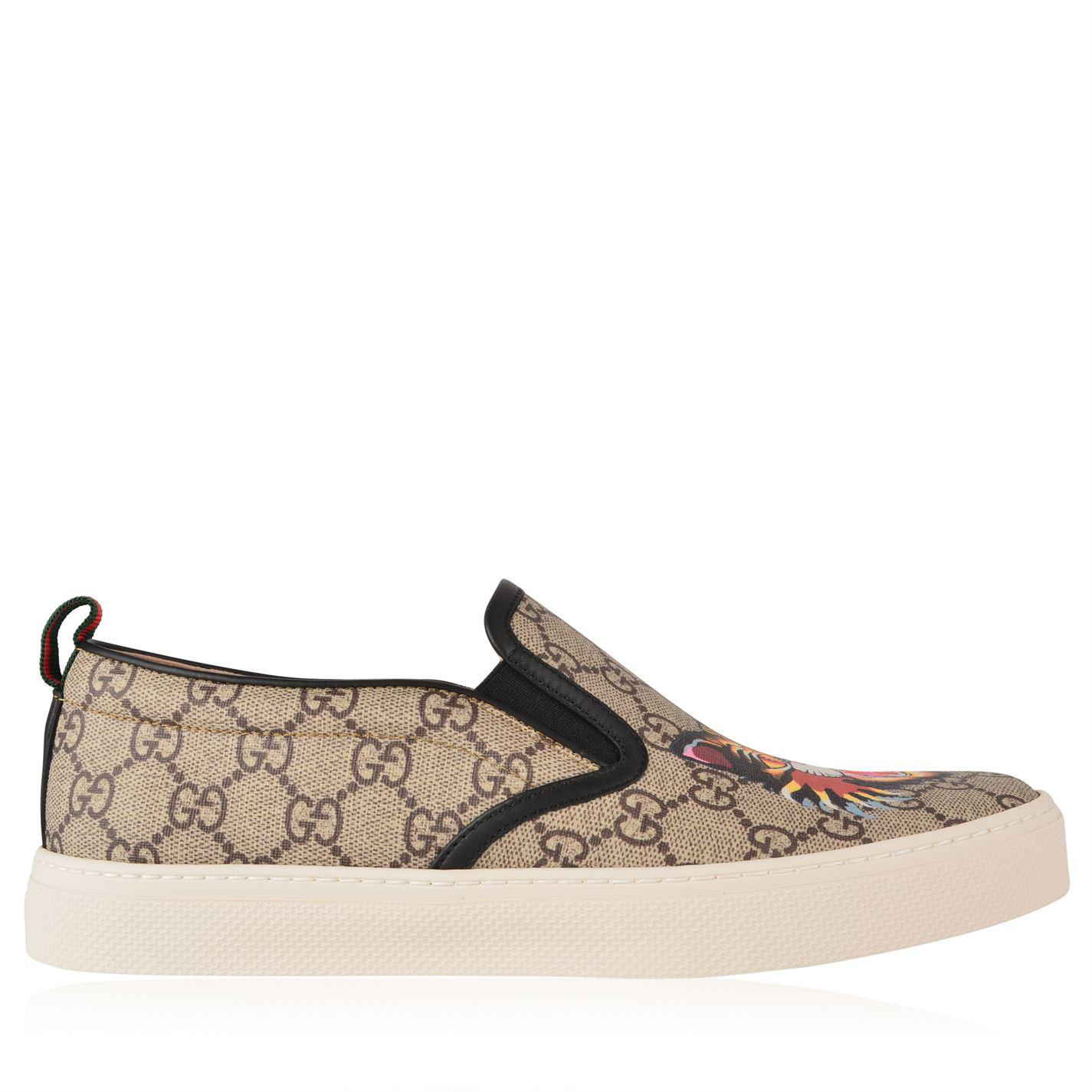 9ee4f29c6 Gucci Dublin Gg Angry Cat Trainers for Men - Lyst