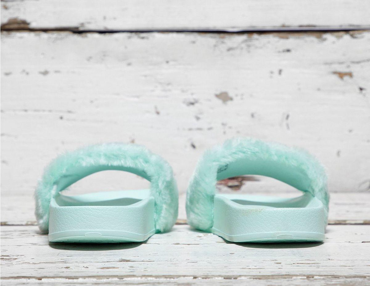 hot sale online 375bb 75993 Lyst - PUMA Fenty Fur Slides in Blue