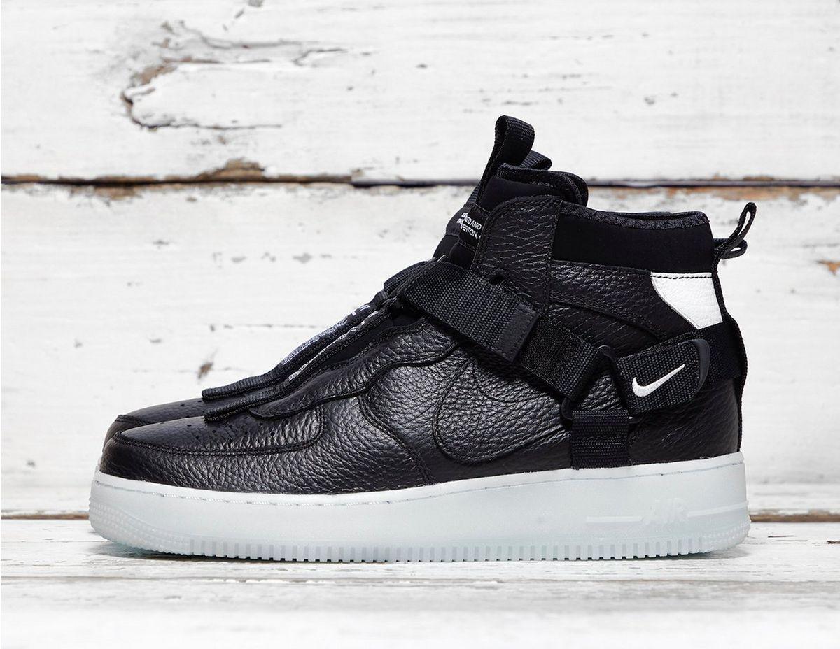 b47b903ef626b6 Nike Air Force 1 Mid Utility in Black for Men - Lyst