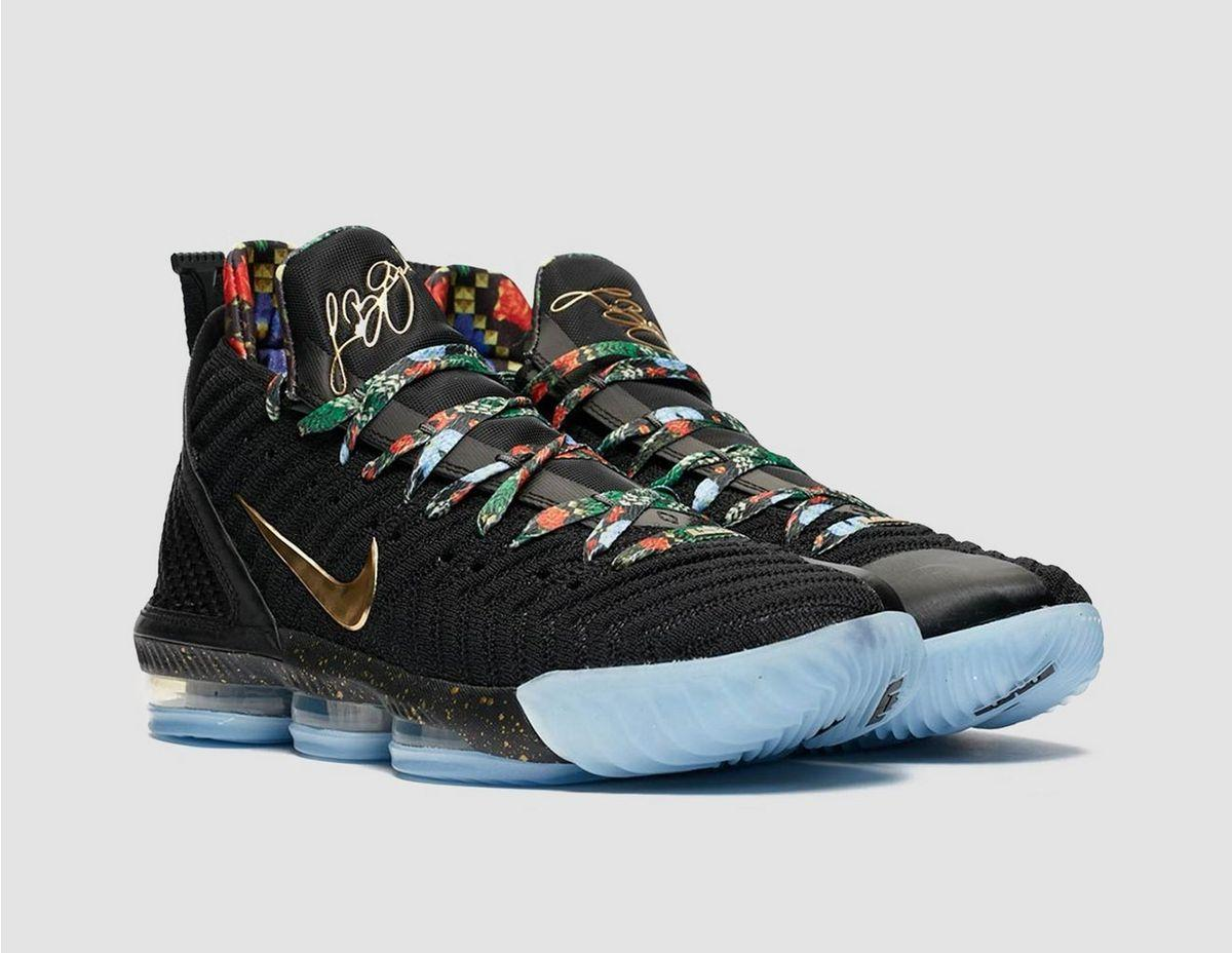 outlet store fbc02 5a905 Lyst - Nike Lebron 16 Watch The Throne in Black for Men