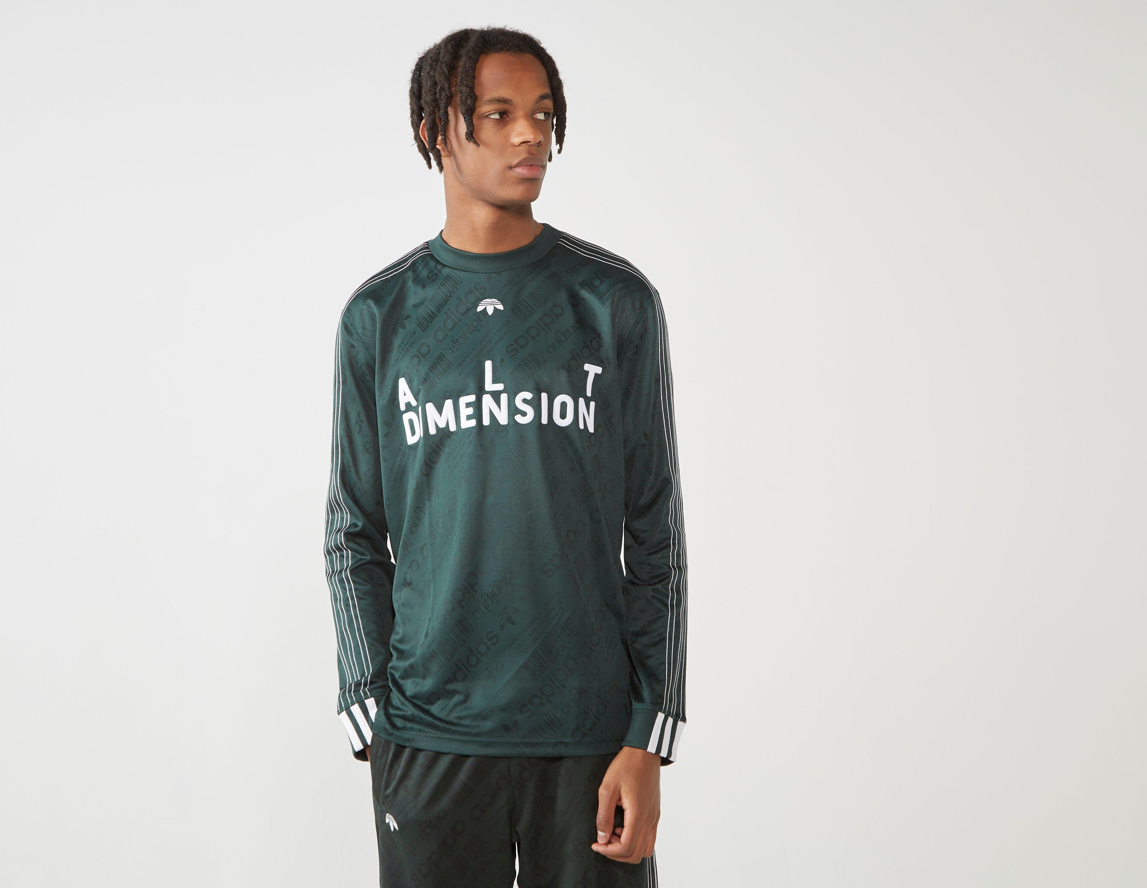 83d8bb30ad4d Lyst - adidas Originals By Alexander Wang Long Sleeved Soccer Jersey ...