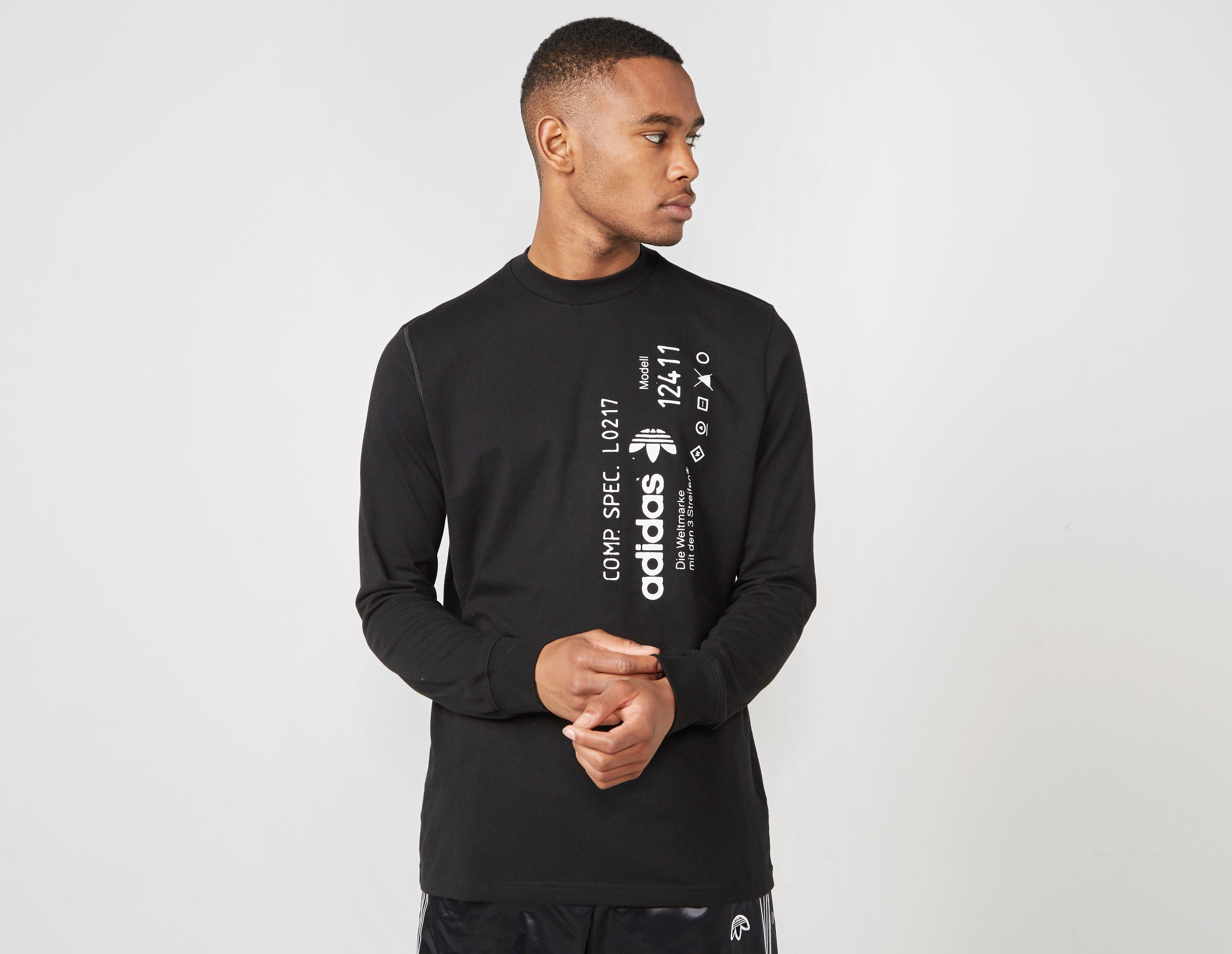 23c95b3b072c Lyst - adidas Originals By Alexander Wang Graphic Long Sleeve in ...