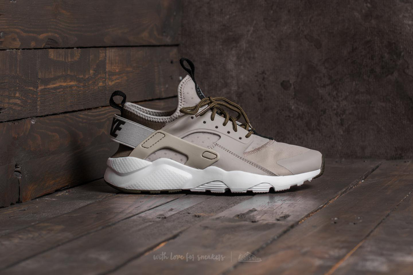 5857420c0cc6 ... amazon lyst nike air huarache run ultra gs pale grey black cargo khaki  69fd2 99960