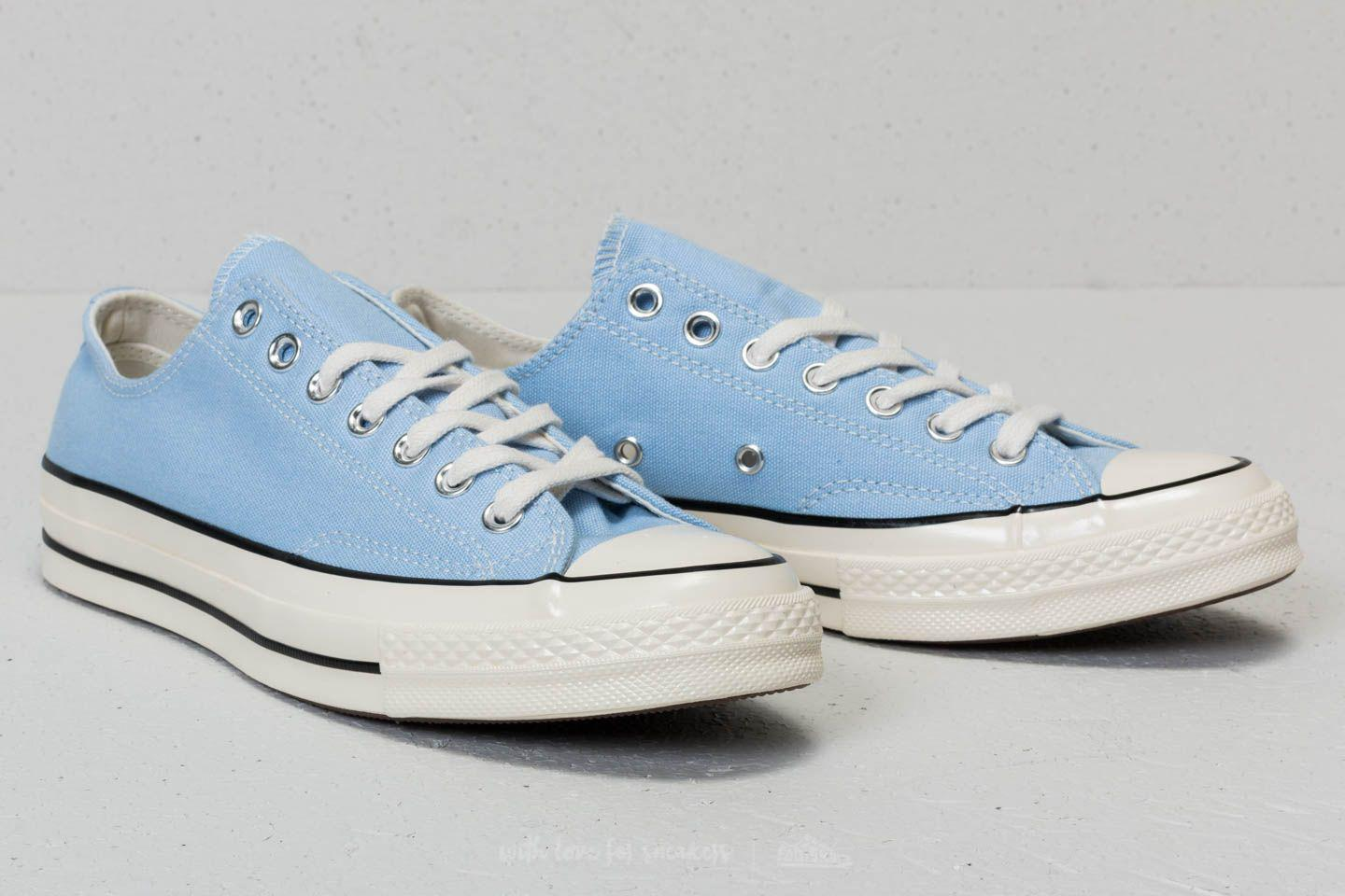 6cab98445b80 Lyst - Converse Chuck Taylor All Star 70 Ox Blue Chill  Black  Egret ...