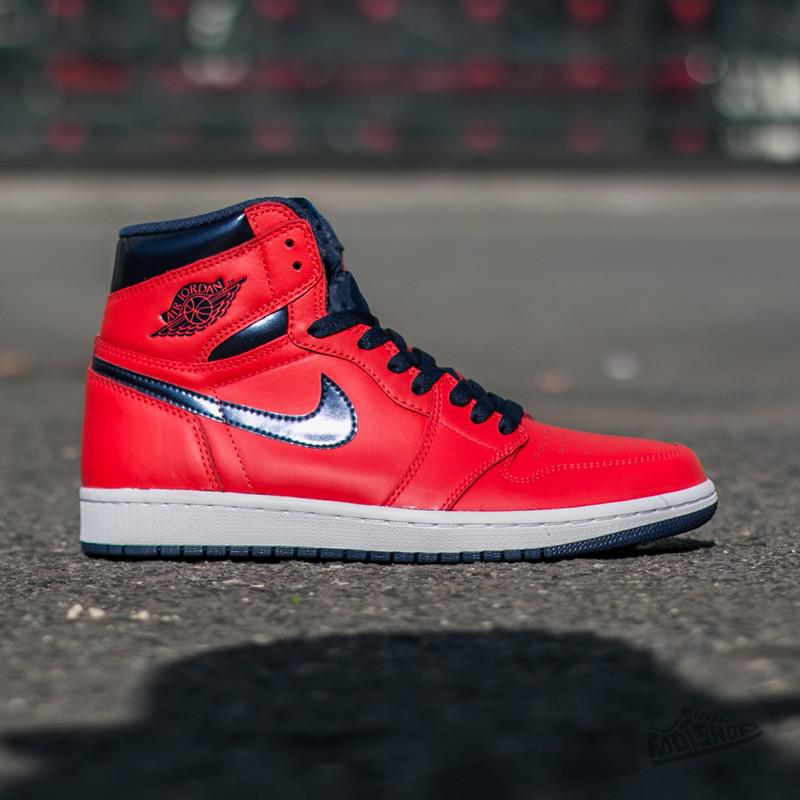 1b3a31e9eae39a ... cheapest lyst jordan air 1 retro high og light crimson mid navy 376bd  95b85