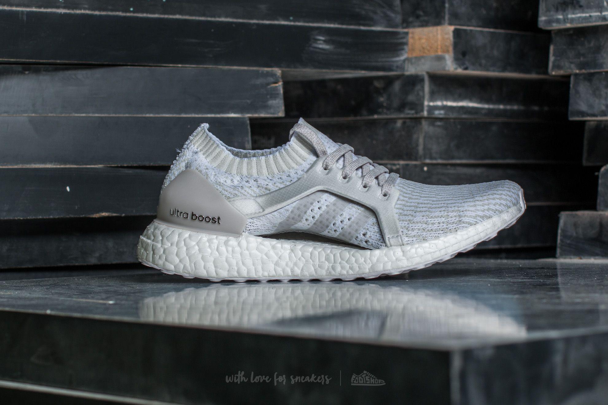 9063b23fdc893 Lyst - Footshop Adidas Ultraboost X Ftw White  Pearl Grey  Crystal ...