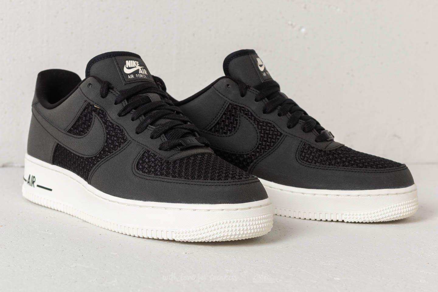 best authentic bdf3b 11855 Nike Air Force 1 Low Black  Black-sail in Black for Men - Lyst