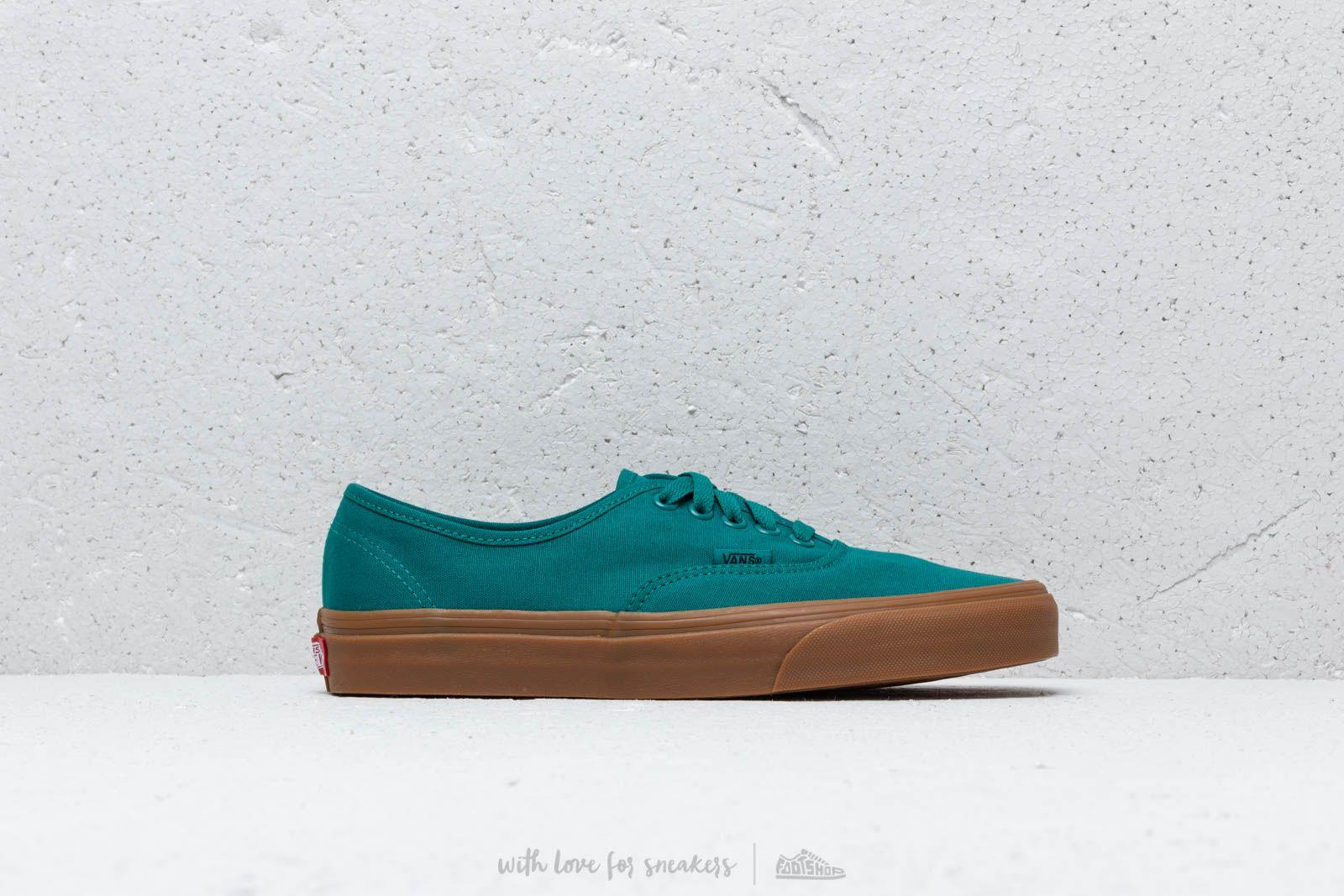 Vans - Authentic Quetzal Green  Gum for Men - Lyst. View fullscreen f9c6b96b2