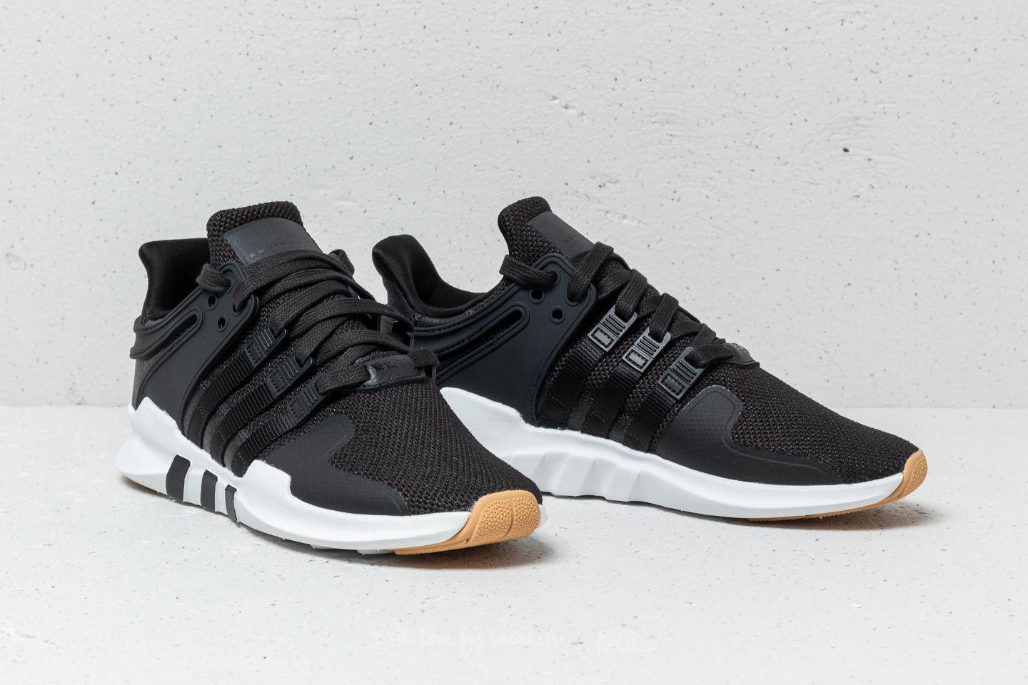 best service 1f7ab 65091 Adidas Originals - Adidas Eqt Support Adv Core Black Ftw White Gum for  Men. View fullscreen