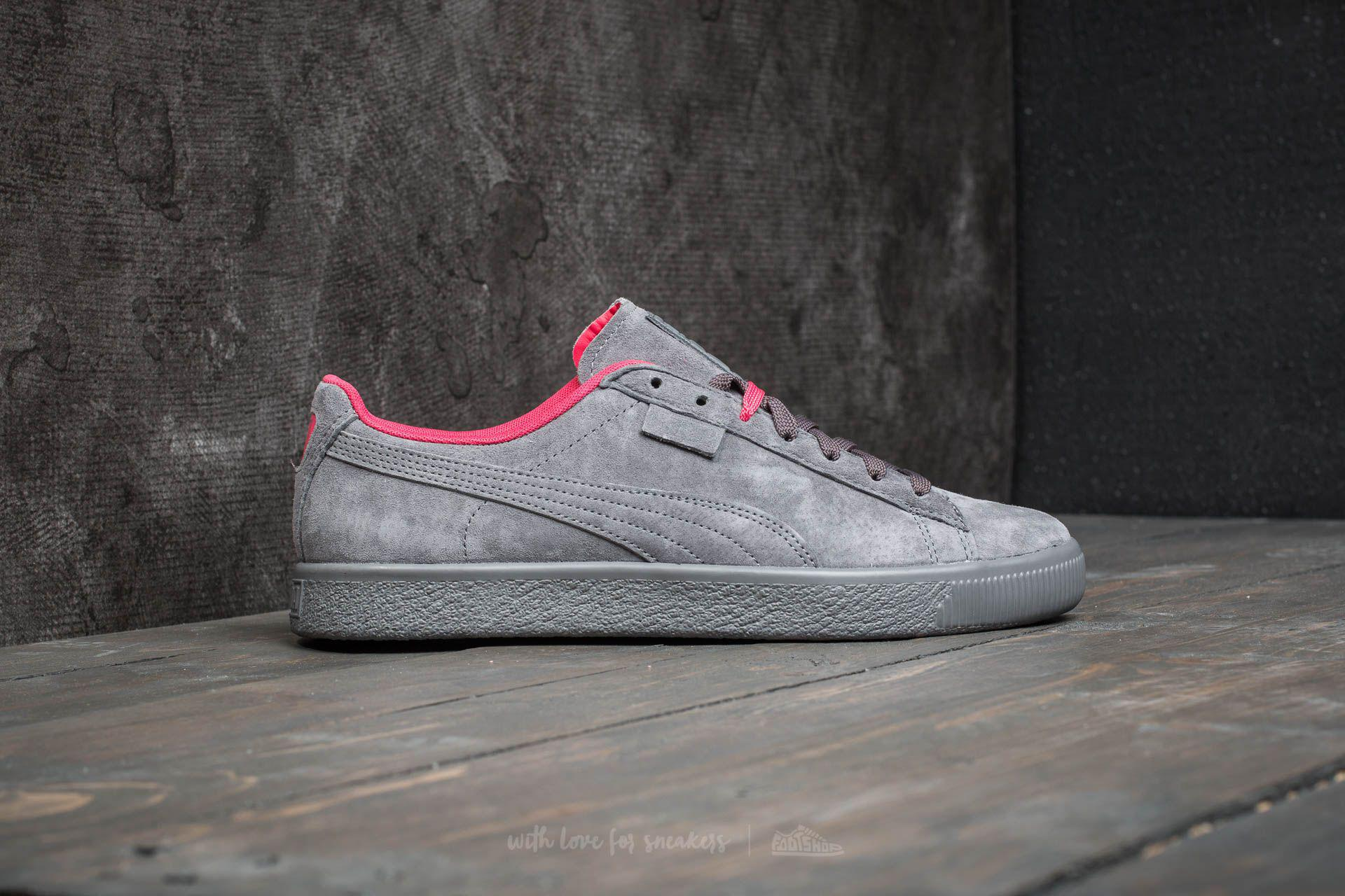 d080c5f604cf1e Lyst - PUMA X Staple Clyde High Rise-glacier Gray in Gray for Men