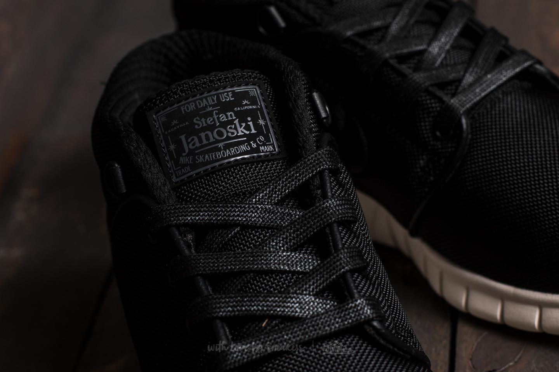 ce034452d28c Lyst - Nike Stefan Janoski Max Mid Black  Black-neptune Green in ...