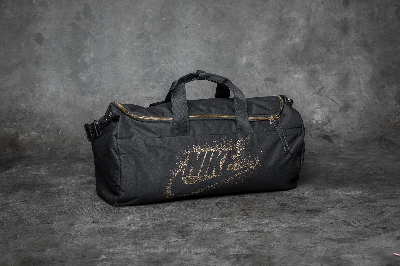 Lyst - Nike Metallic Duffle Black in Black for Men 619feda1b4d32
