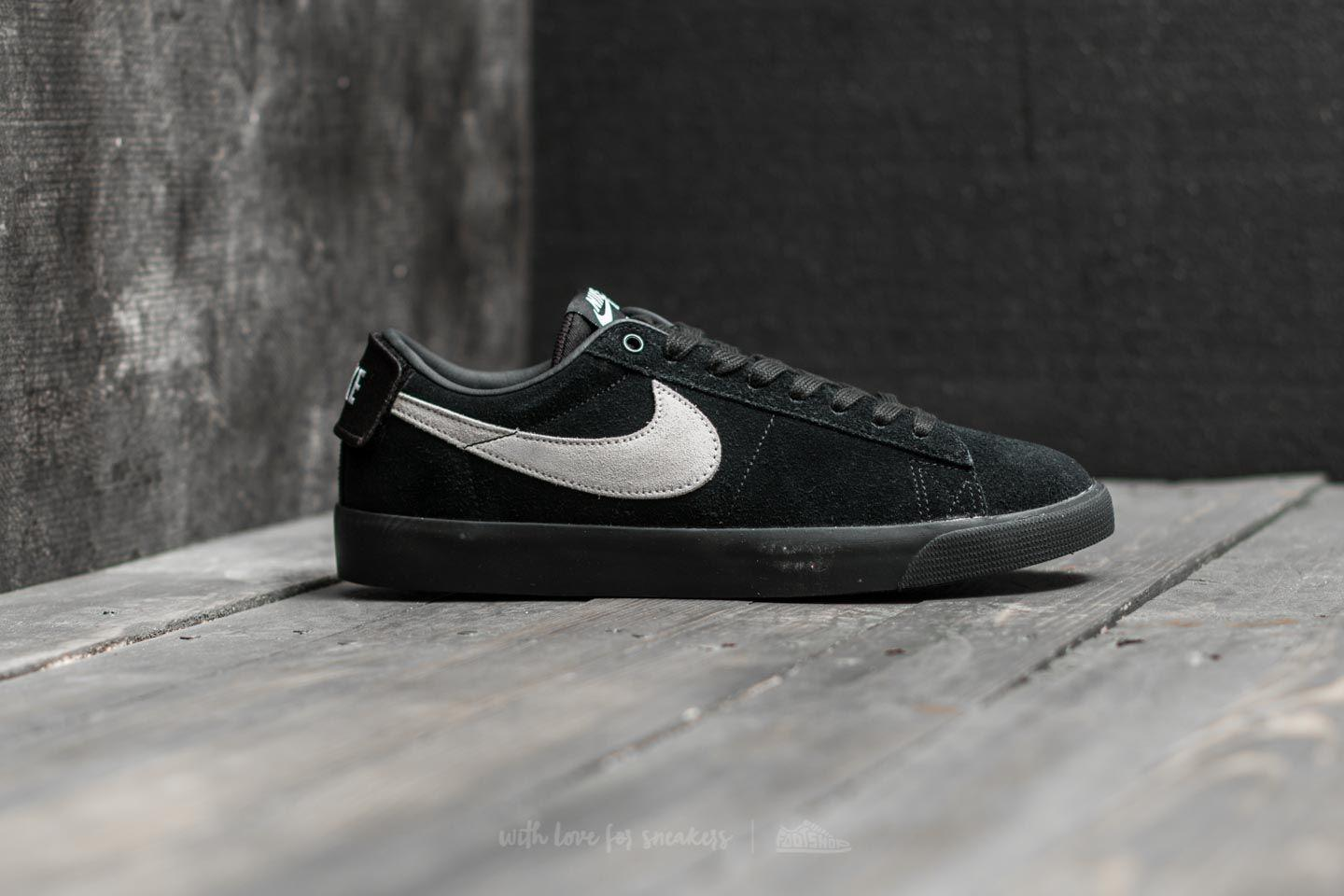 first rate 1fa4a a40bd Lyst - Nike Sb Blazer Zoom Low Gt Black  White-black in Black for