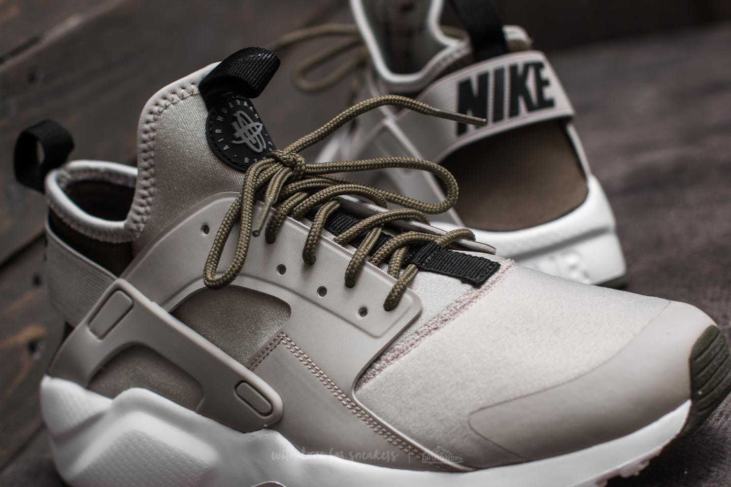 f261ea899c7f ... best price lyst nike air huarache run ultra pale grey black cargo khaki  for men b83b5