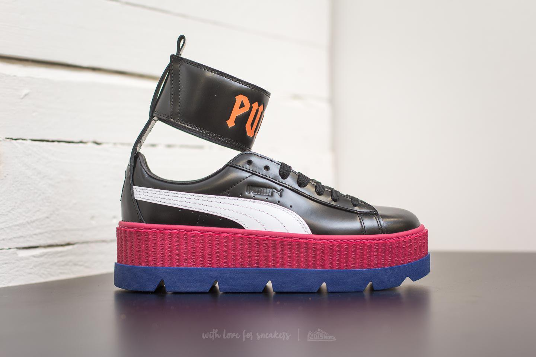 Lyst - Footshop Puma Fenty Ankle Strap Sneaker Wn ́s Black-white-red ... 25b2eb766