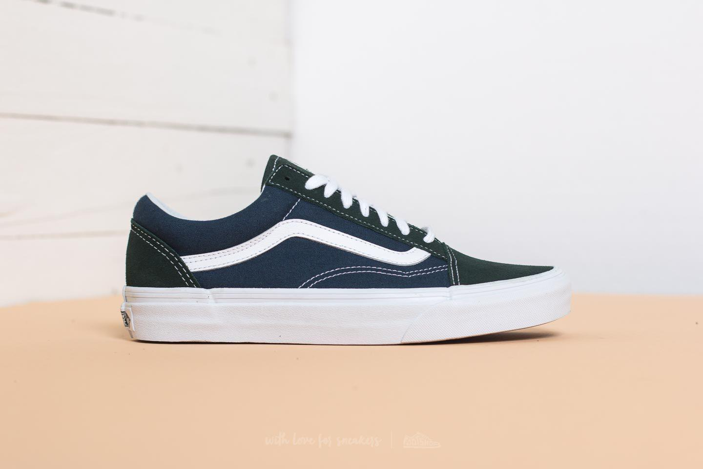 vans old skool blue outfit