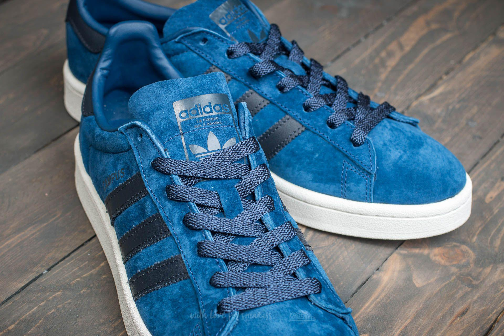 separation shoes 5100b 14680 Lyst - adidas Originals Adidas Campus Mystery Blue Night Nav