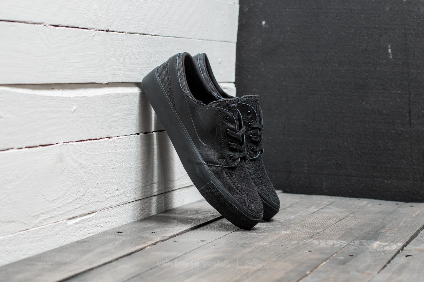 reputable site c87c5 4b55b Nike Zoom Stefan Janoski Elite Ht Black  Black-anthracite-sail in ...