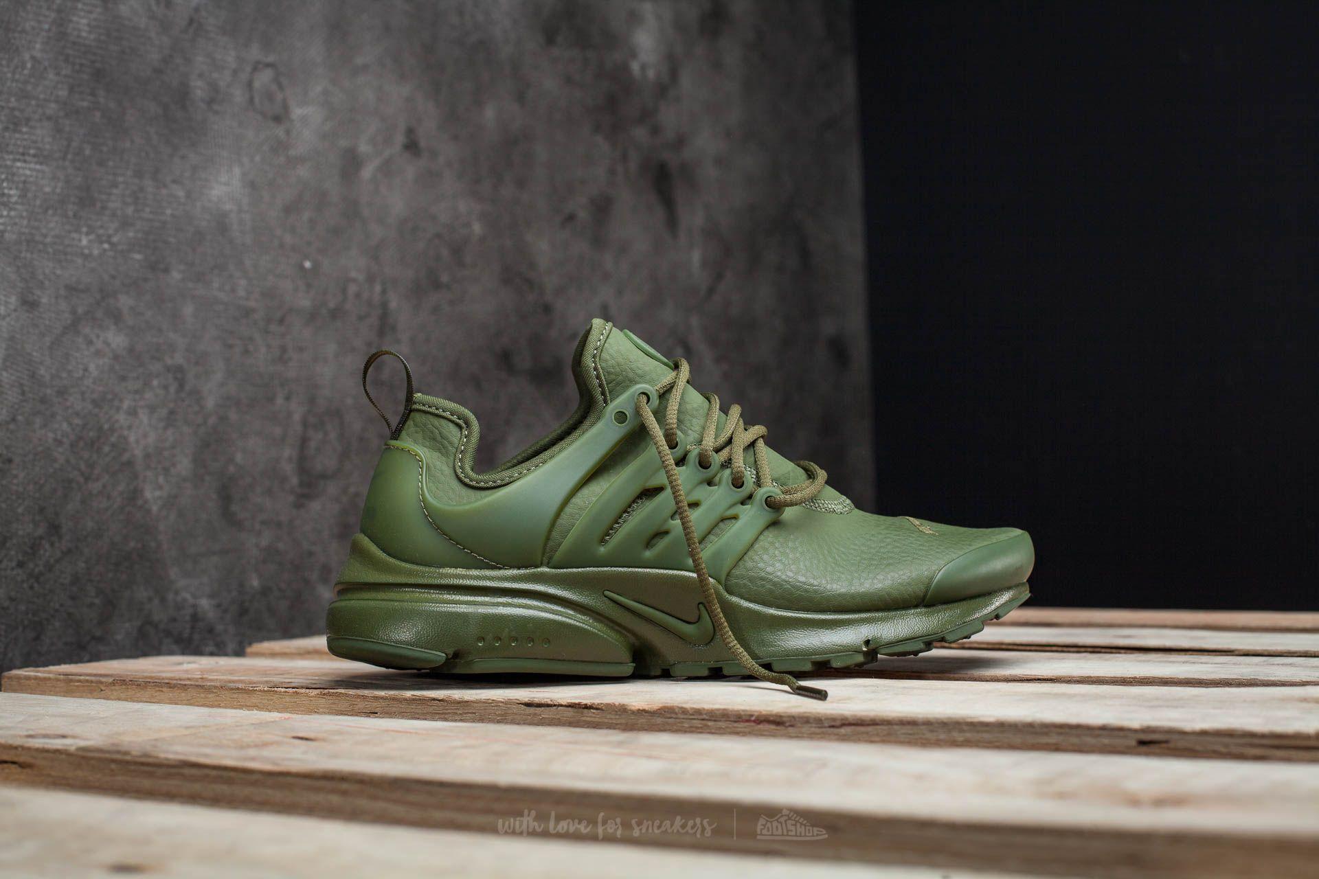 7a5489c3a18 Lyst - Nike W Air Presto Premium Legion Green  Legion Green in Green