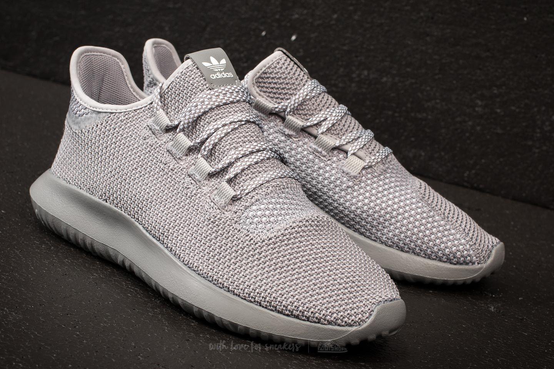 adidas Adidas Tubular Shadow Primeknit Core / Ftw White/ Grey Three y9oJeVW