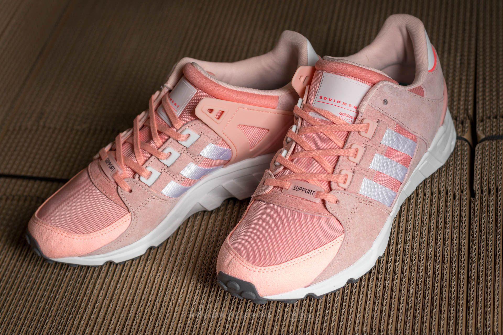 8d78adc41f96 Lyst - adidas Originals Adidas Eqt Support Rf W Haze Coral  Ftw ...