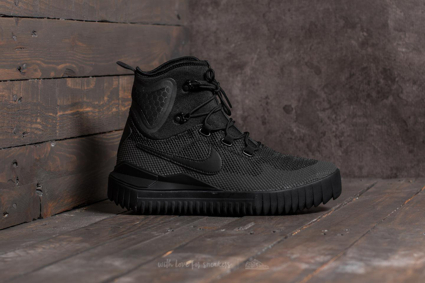 feabe23463a Lyst - Nike Air Wild Mid Black  Black-black-anthracite in Black for Men