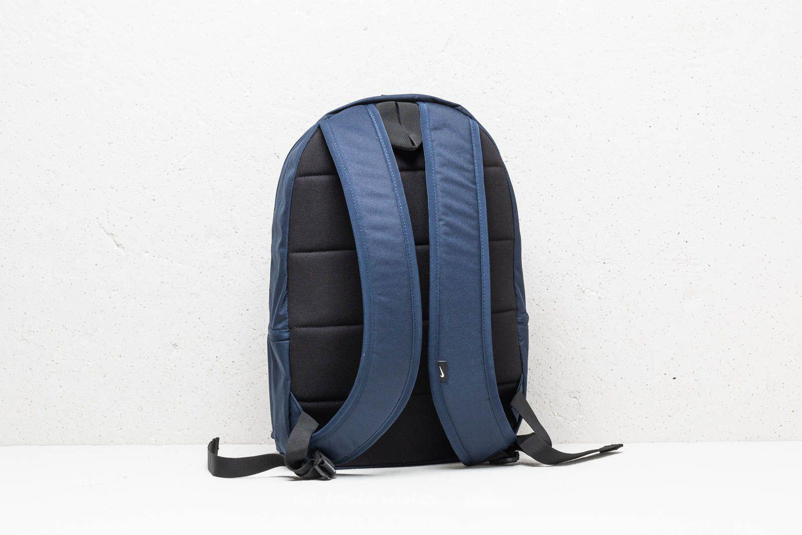 2f79eb69ff5 Nike Heritage Backpack Navy/ Black in Blue - Lyst