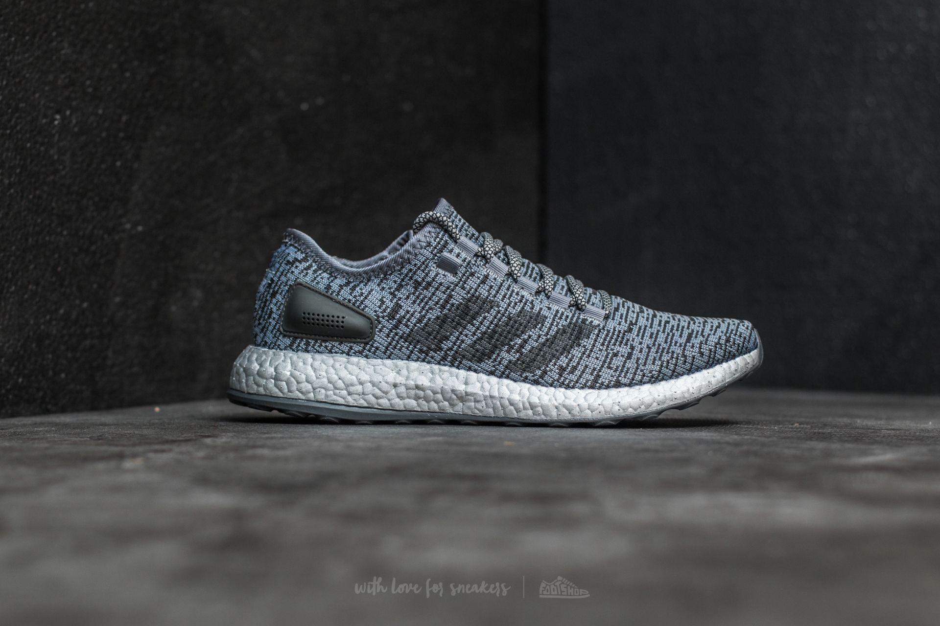 Lyst - Footshop Adidas Pureboost Ltd Grey  Dark Grey Heather Solid ... e55e97037