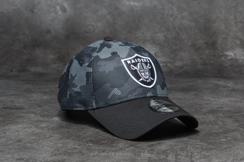 66bbfb48c86 Lyst - KTZ 9forty Nfl Mesh Overlay Oakland Raiders Grey  Black in ...