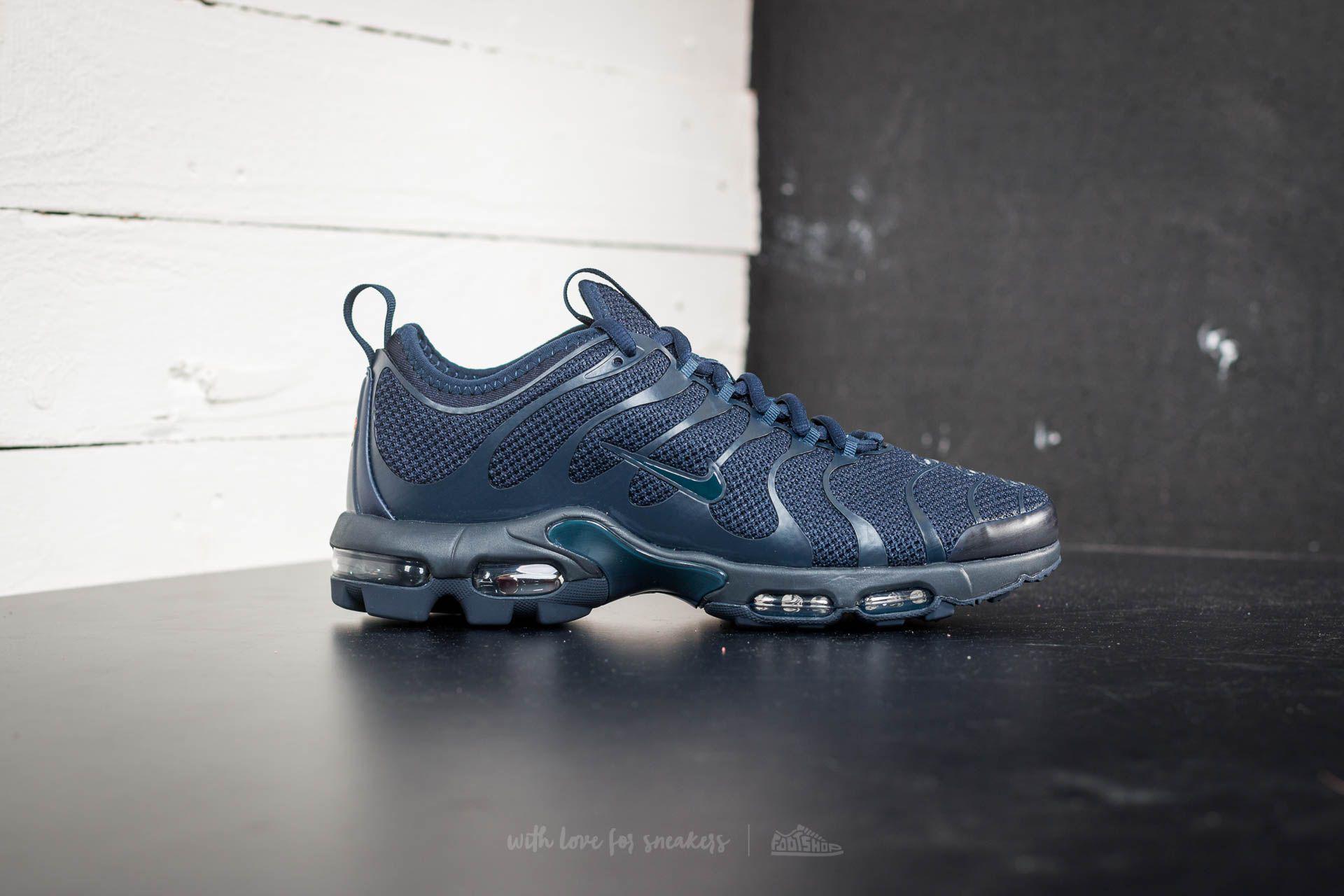 Nike 655020 421 Air Max Plus TN 1 Midnight NavyVolt Blue