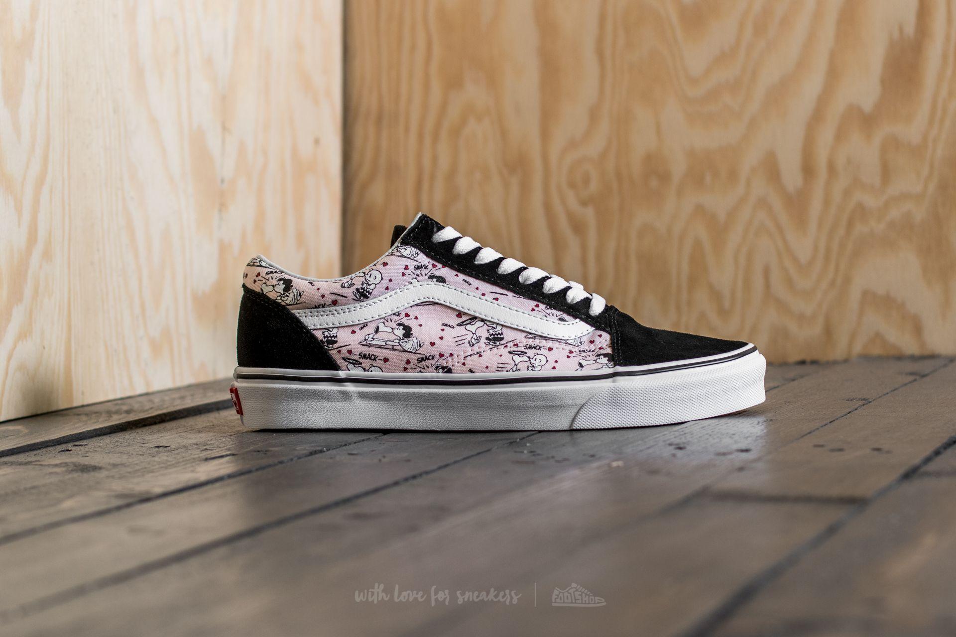 966c5c9aabf9 Lyst - Vans X Peanuts Old Skool Smack  Pearl