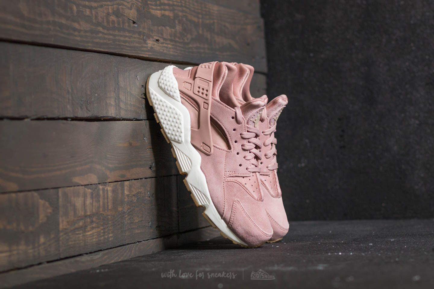 1ddca12fa8c4c Lyst - Nike Wmns Air Huarache Run Sd Particle Pink  Mushroom-sail in ...