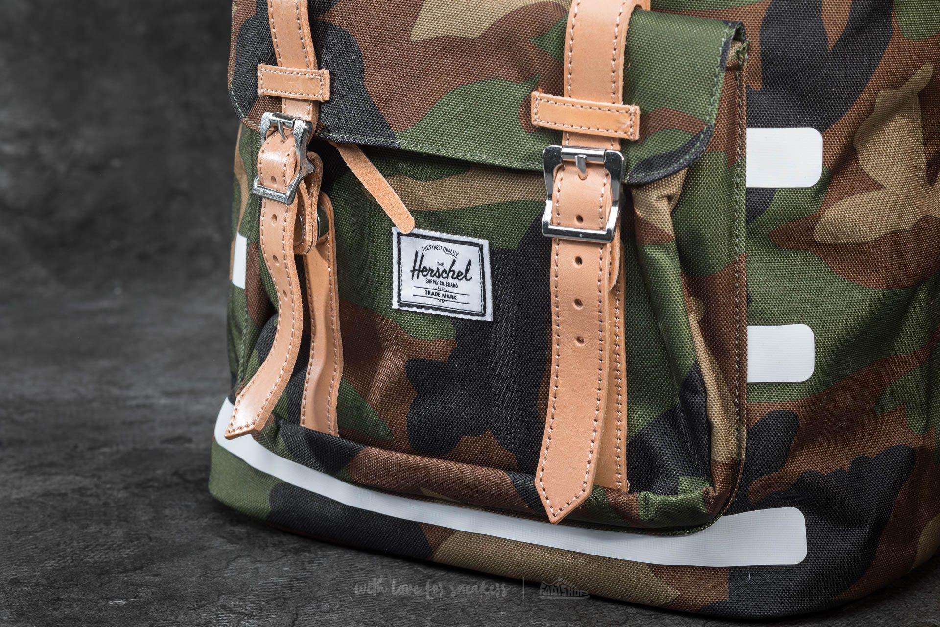 301999eda6d Herschel Supply Co. Little America Backpack Woodland Camo | The ...