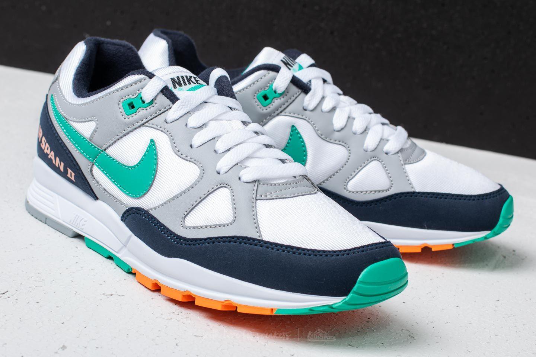 46646408aa26 Lyst - Nike Air Span Ii Wolf Grey  Kinetic Green in Gray for Men