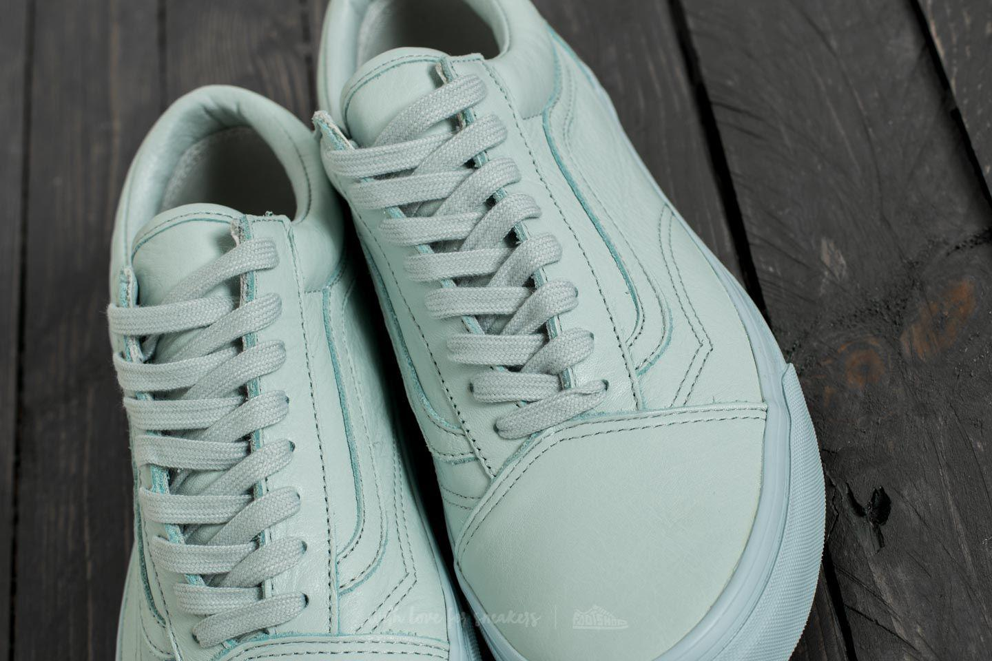 182975b8d3af0c Lyst - Vans Old Skool (leather) Mono  Ice Flow