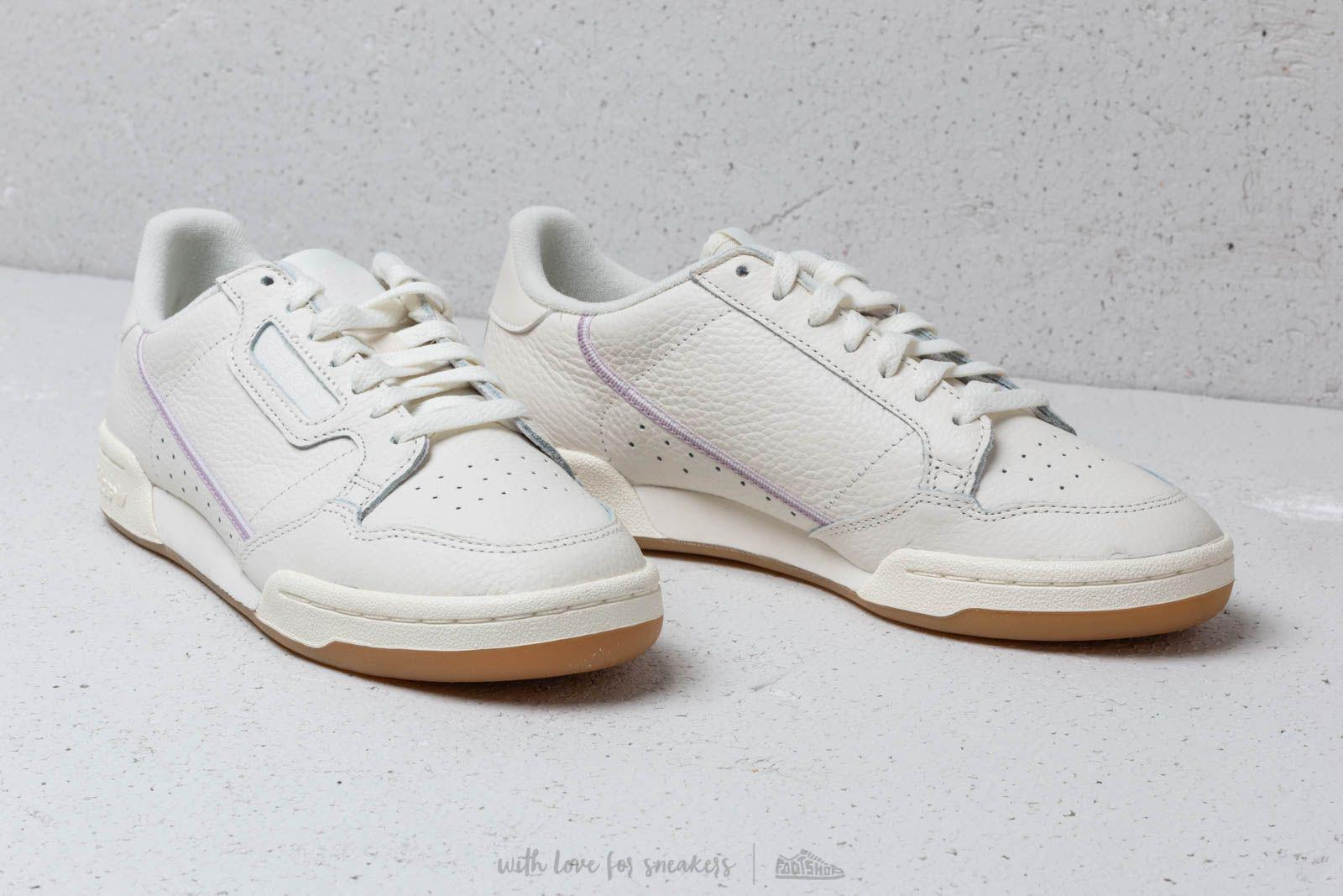 info for 1567a 8f014 Lyst - adidas Originals Adidas Continental 80 W Off White Or
