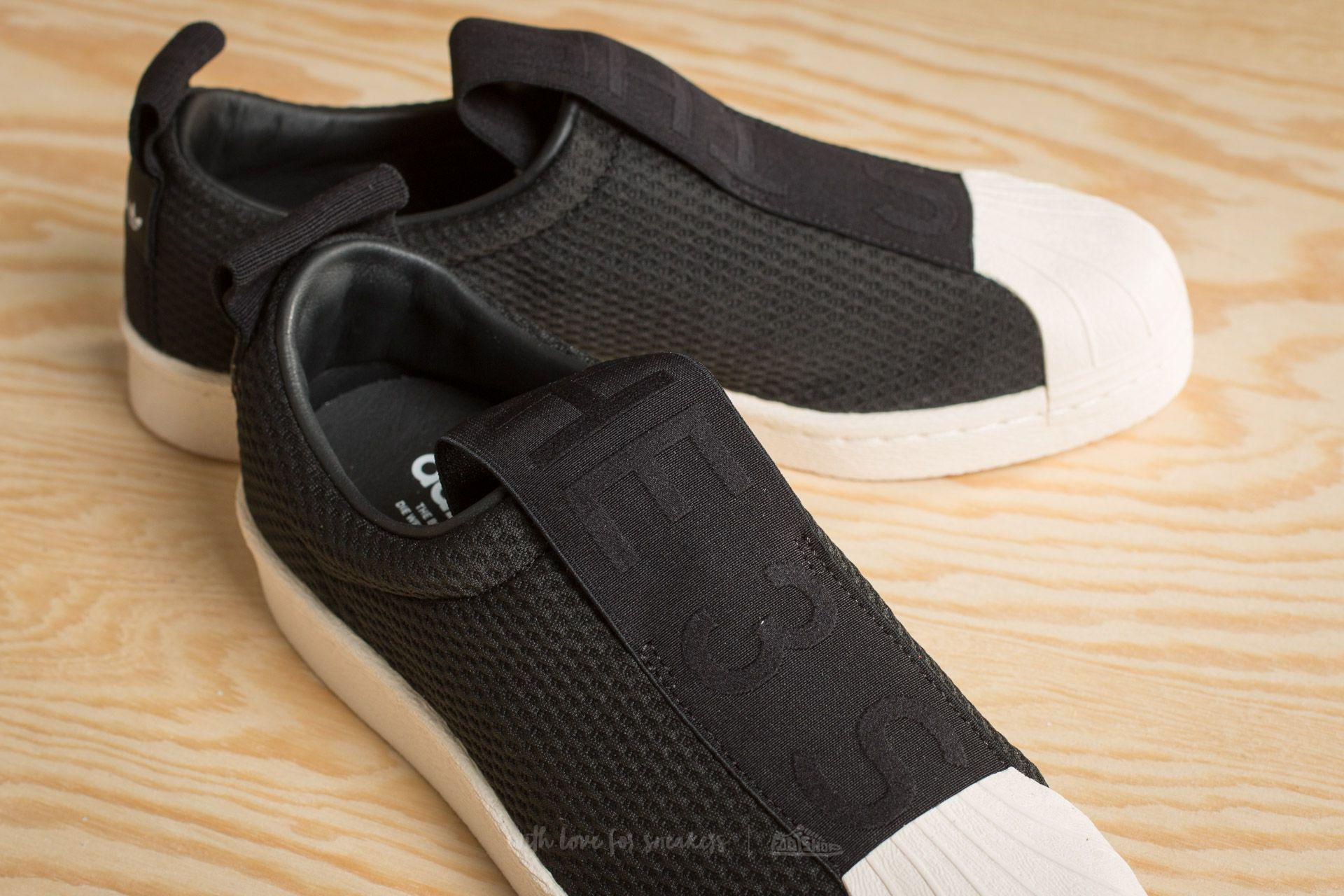 Lyst - adidas Originals Adidas Superstar Bw35 Slip On W Core Black ... 68b78dbf2