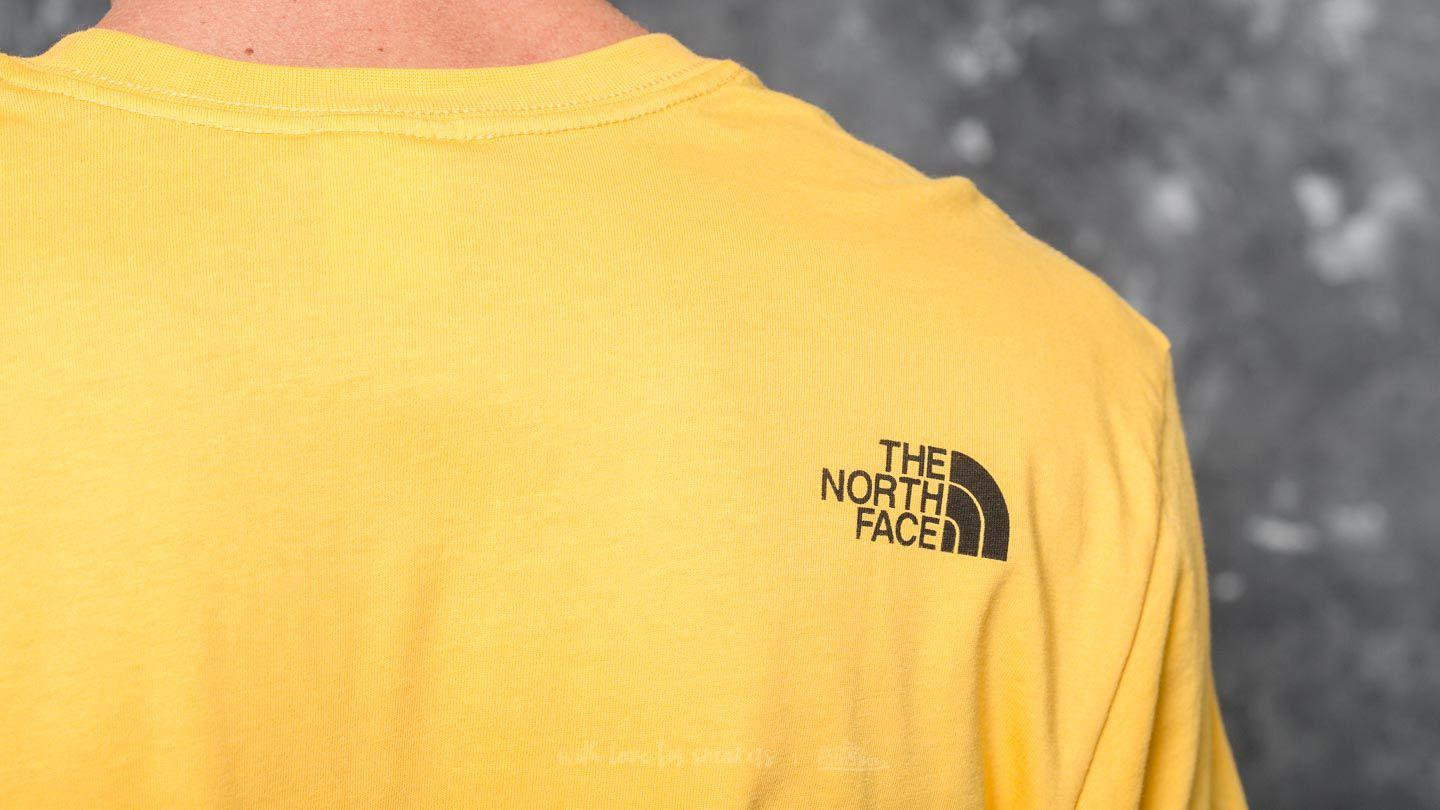 a7a5f6754 Lyst - Footshop The North Face Shortsleeve Fine Tee Tnf Yellow in ...