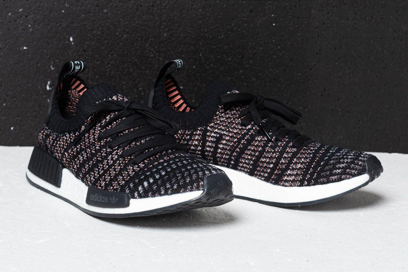 ea1ab61fe173f Lyst - adidas Originals Adidas Nmd r1 Stlt Primeknit Core Black ...