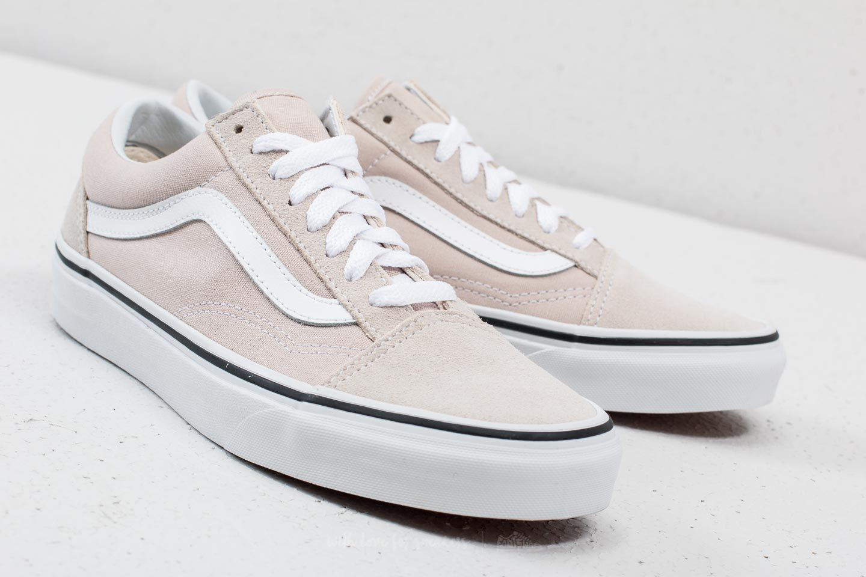 1e14fb25f8 Lyst - Vans Old Skool Silver Lining  True White in White for Men
