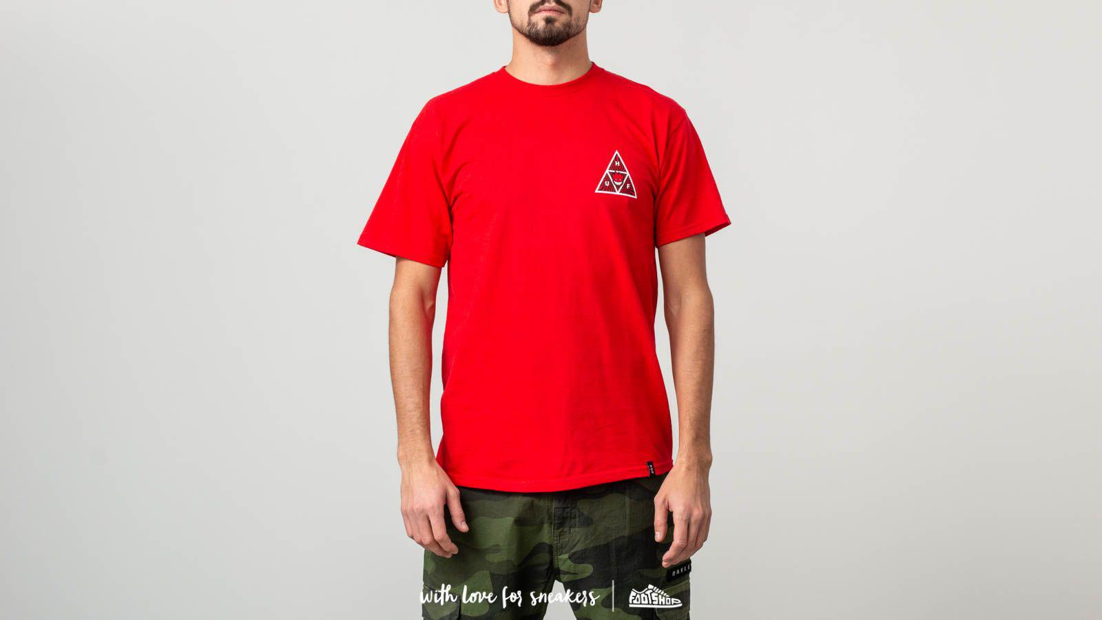 3b948b657f Lyst - Huf X Spitfire Triple Triangle T-shirt Red in Red for Men
